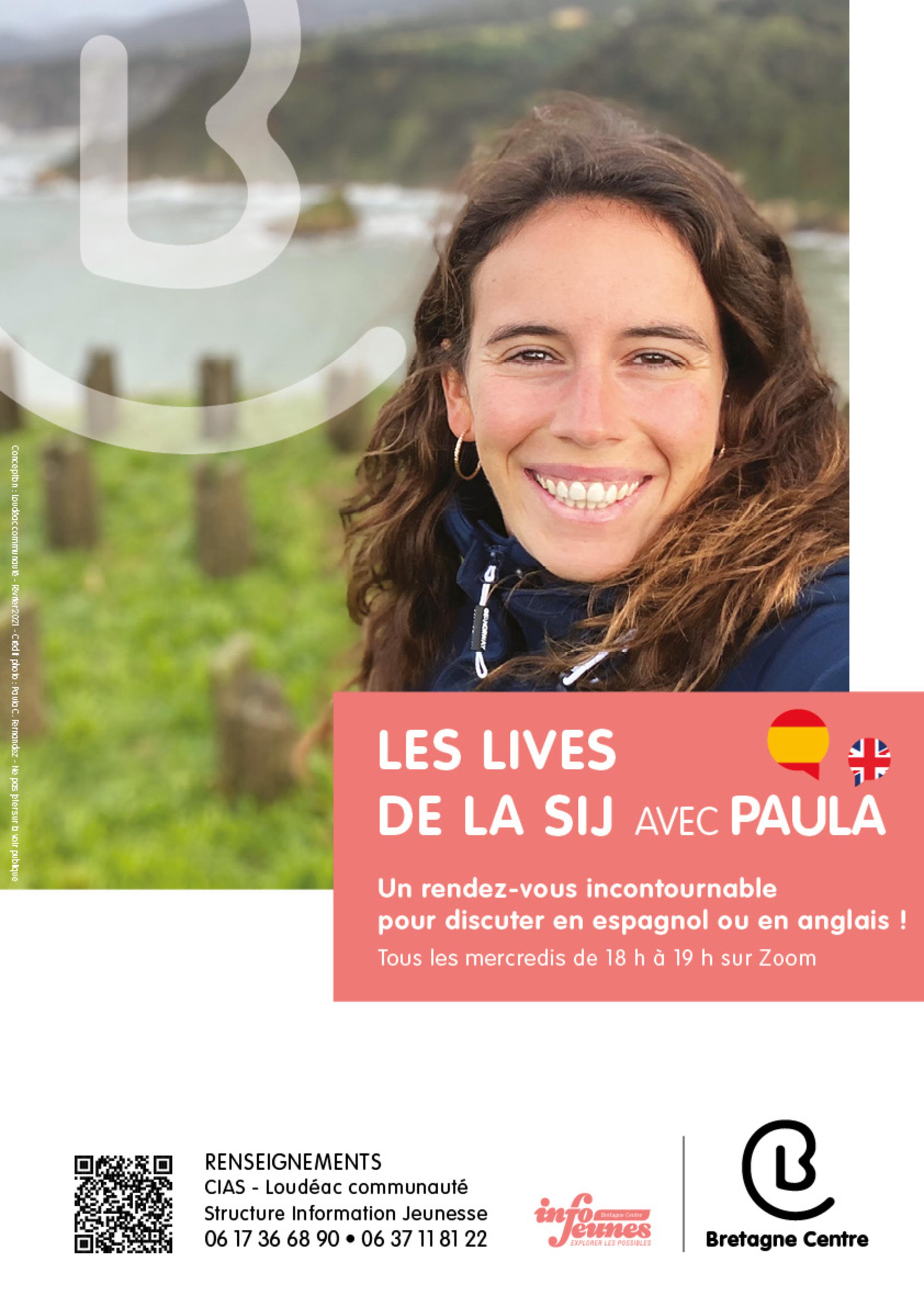 11-25 ans : Live en Anglais ou en Italien