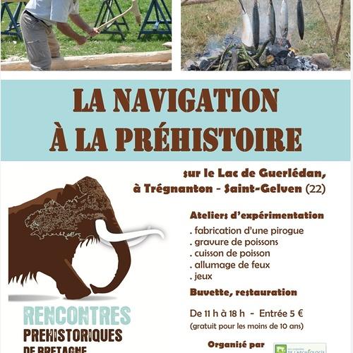 LA NAVIGATION A LA PREHISTOIRE